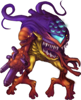 Sa-x monster by GeoKorf