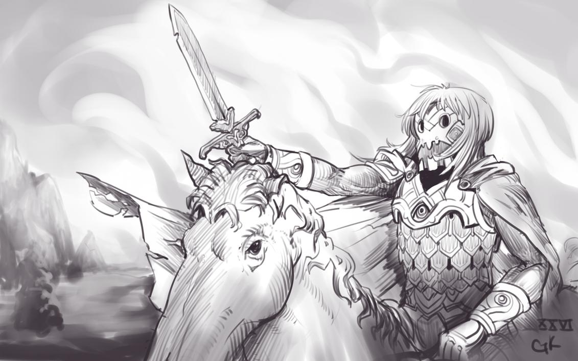 Warrior of shadow by 3ihard