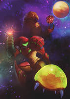 Metroid Anniversary by GeoKorf