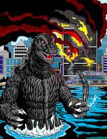 Godzilla in NY by kaijuverse