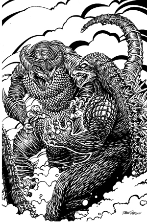 Godzilla in the Ultraverse by kaijuverse
