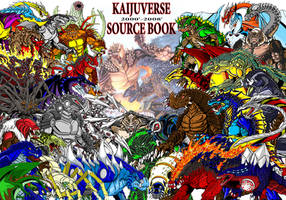 Kaijuverse Source Book Poster by kaijuverse