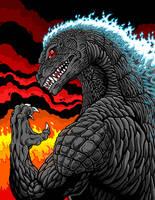 Godzilla Rage by kaijuverse