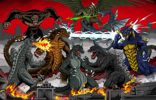 Global Kaiju Battle