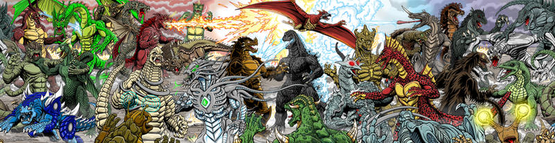 Finished At Last 30 kaiju battle by kaijuverse