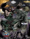 Kong Gamera Godzilla