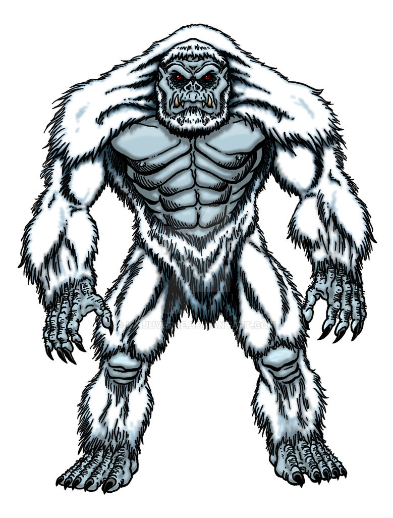Matt Dennion YUKON or Yetaiju the Poloar Yeti by kaijuverse
