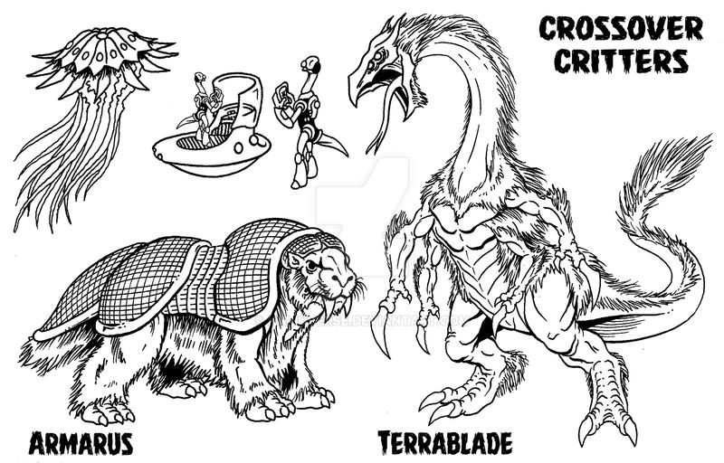 Crossover Critters by kaijuverse