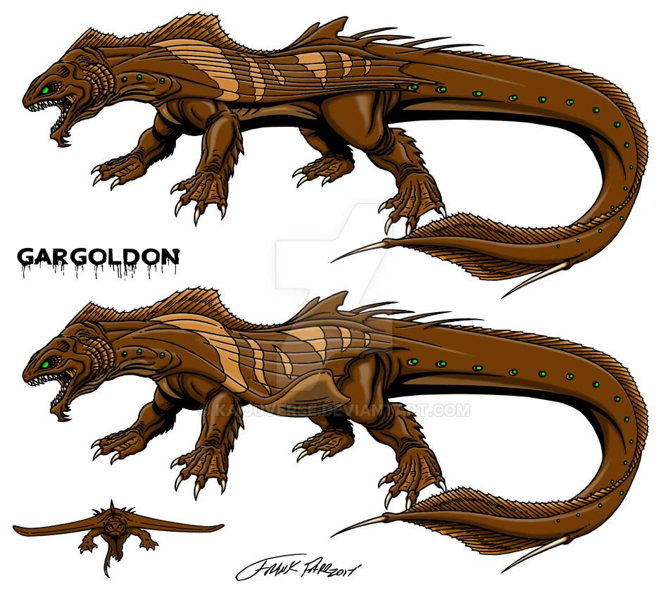 Andrew Sudomerski's Gargoldon by kaijuverse