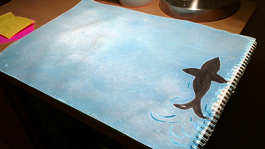 Fish in the sky by samawie on deviantart for 94 1 the fish