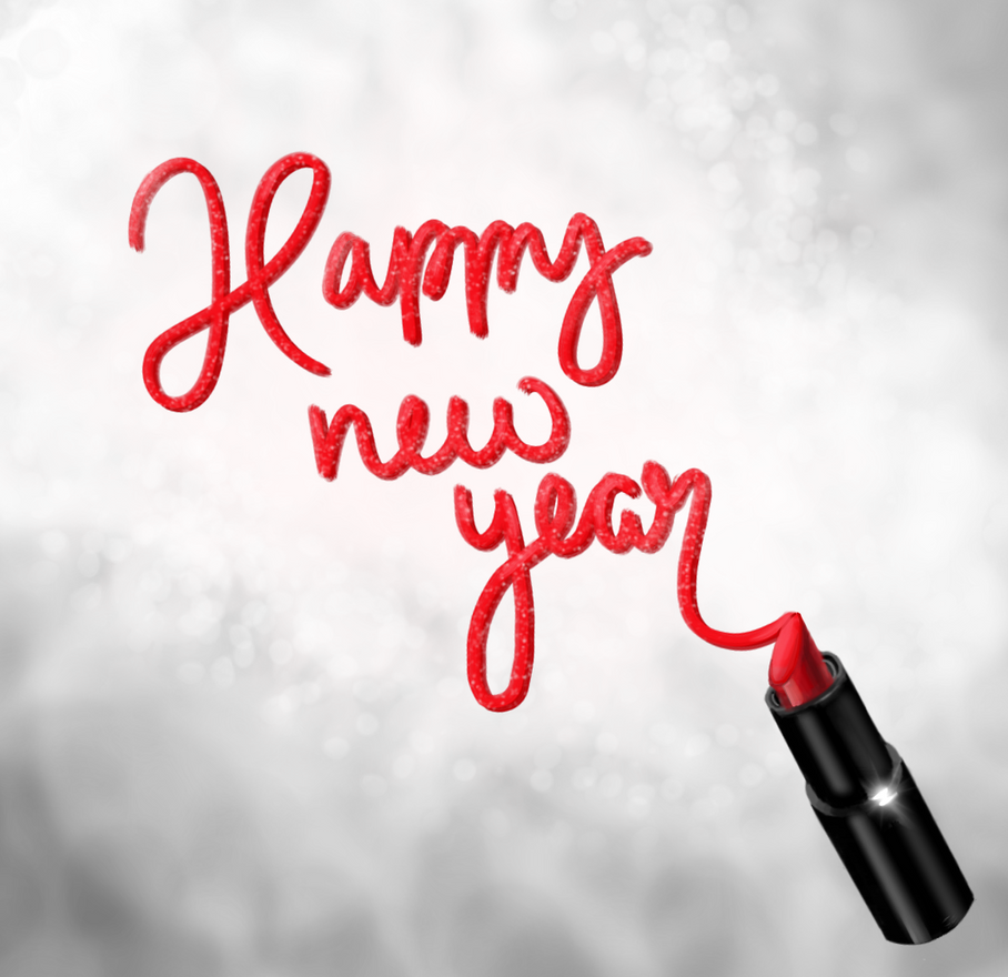 happy new year! by brickelle