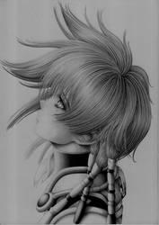 Iria - Zeiram The Animation - Pencils - Wip