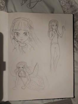 Hannah Montana mermaid au