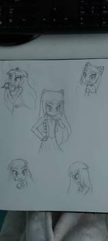 Princess Starshine sketches