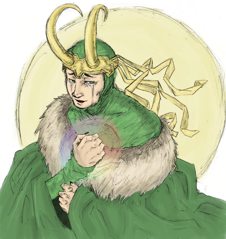 Loki : forgive me brother by LadyNorthstar