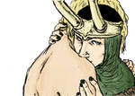 Thor and Loki _ mine