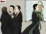 Loki at the SHIELD