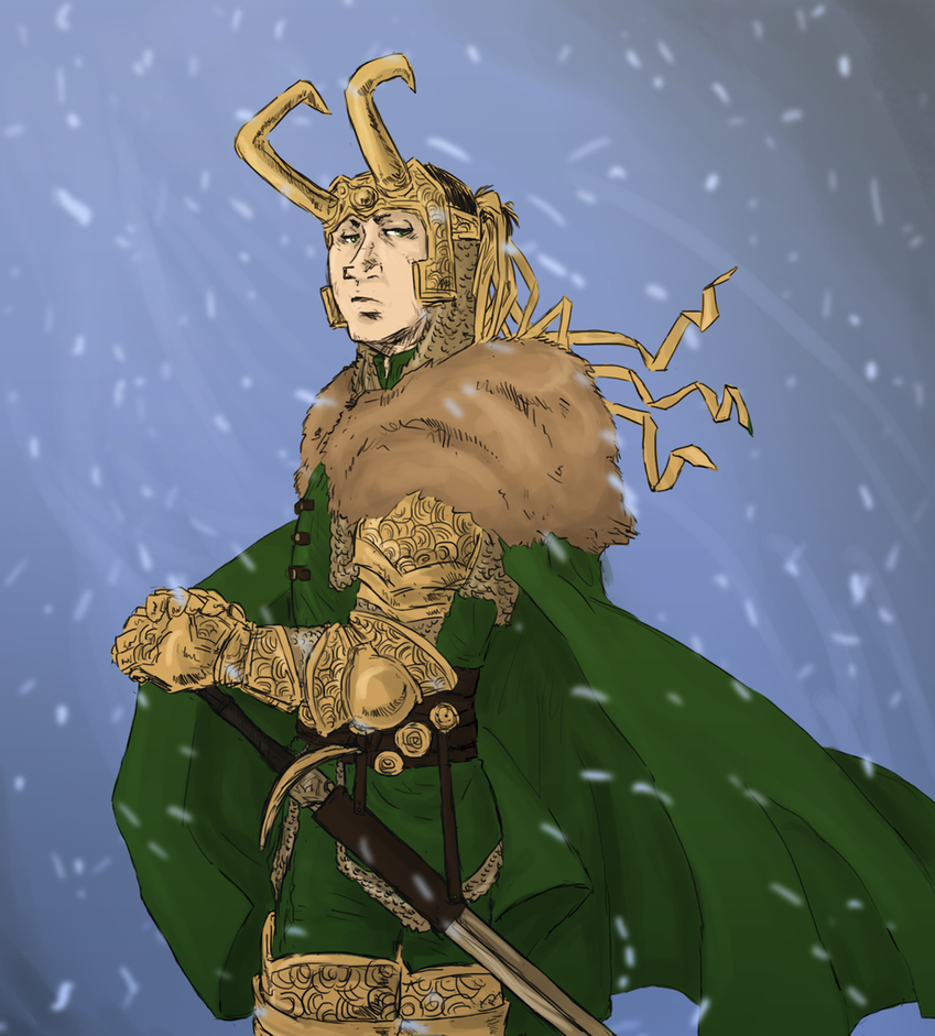Loki : night of the hunter by LadyNorthstar