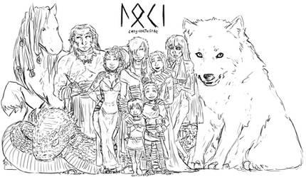LOKI's FAMILY by LadyNorthstar