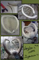 ladyLOKI's horns : WIP by LadyNorthstar