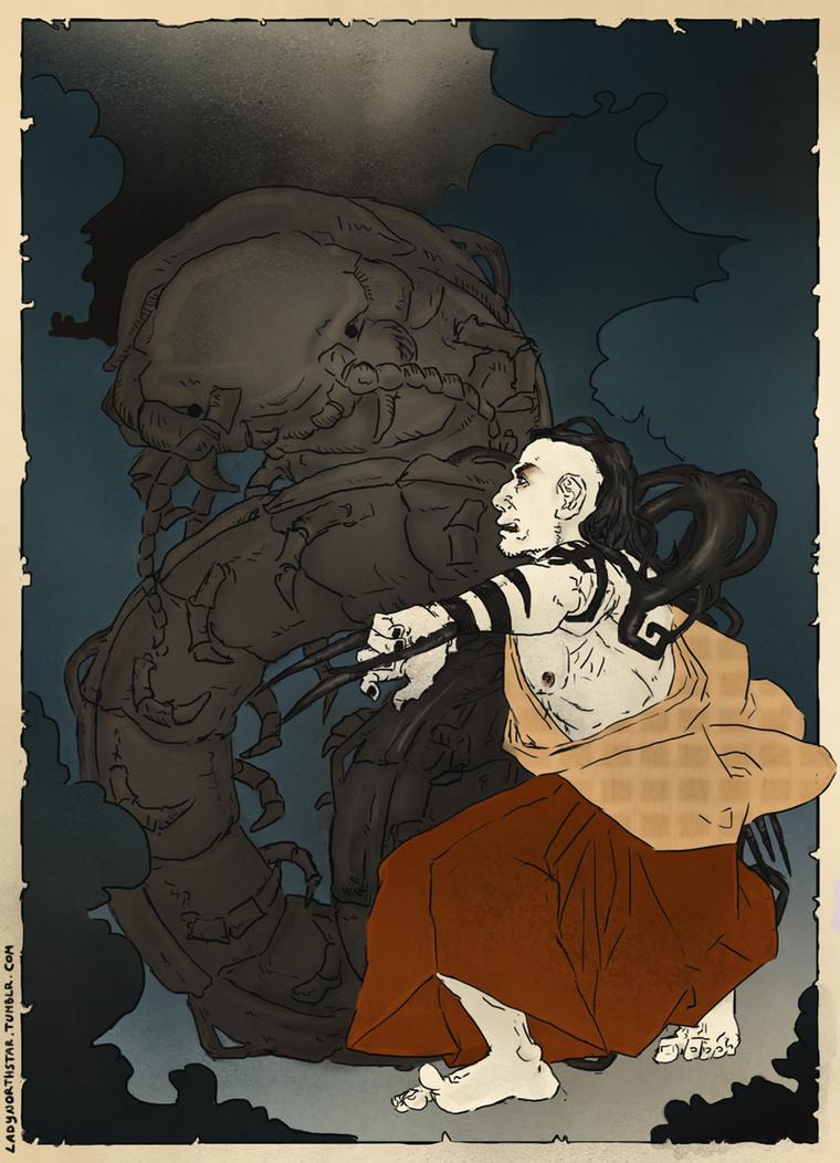 Daken : the Centipede by LadyNorthstar