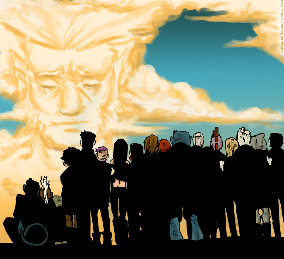 Death of Wolverine by LadyNorthstar