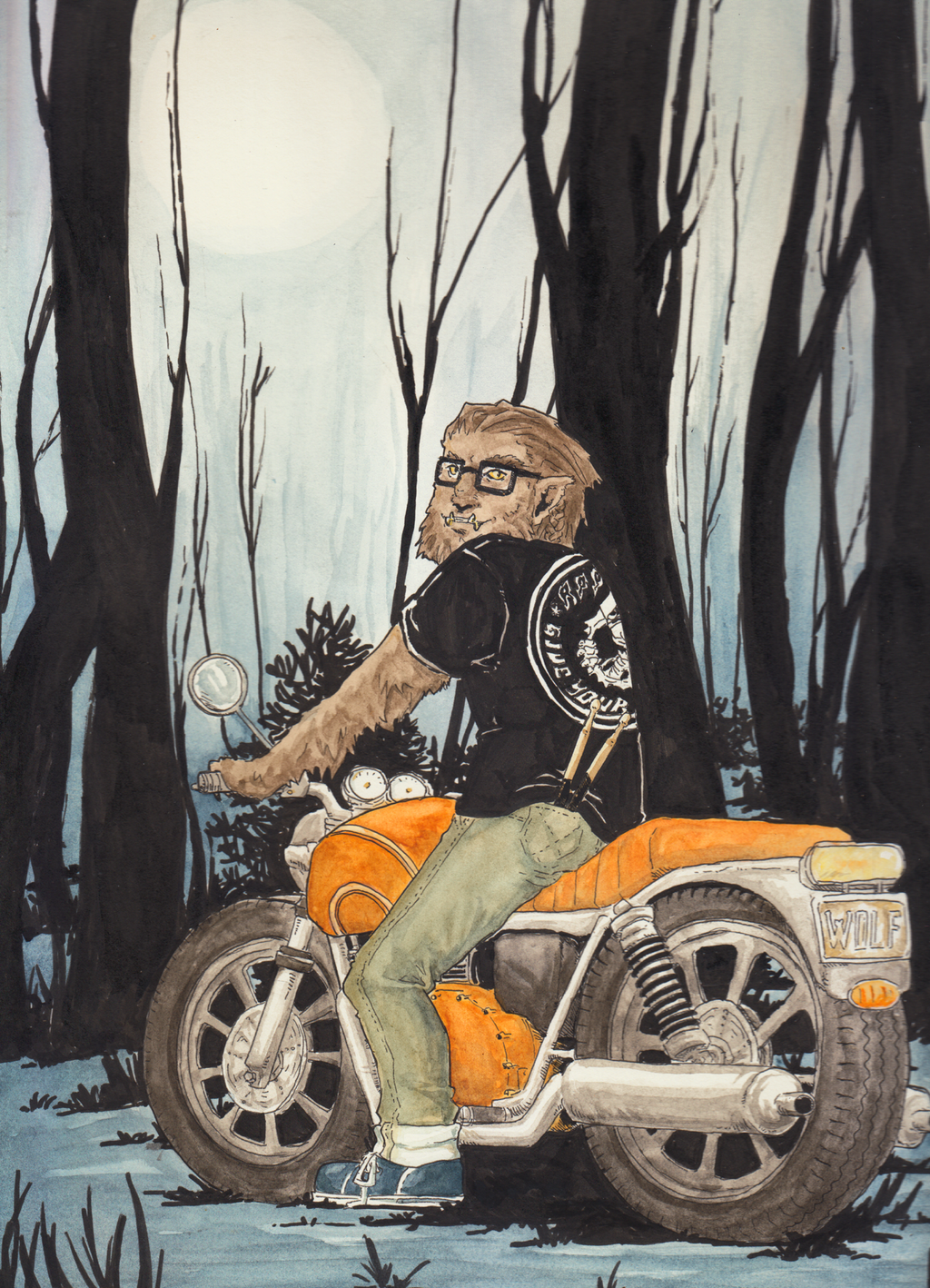 A Wolf's World by LadyNorthstar