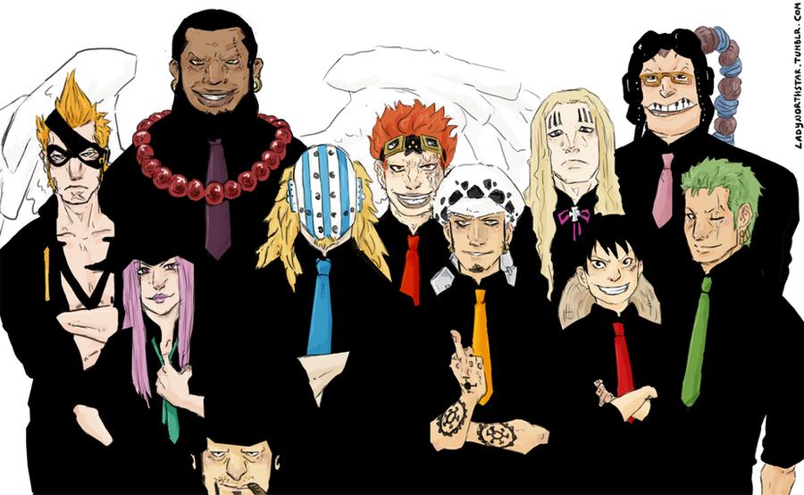 One Piece : 11 SUPERNOVAS by LadyNorthstar