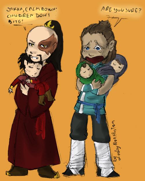 Suki and sokka children
