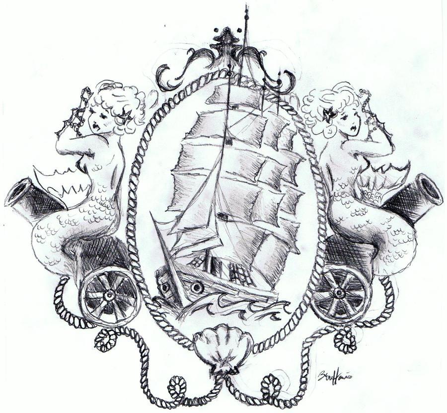 Life Tattoo Mermaid Tattoo Designs