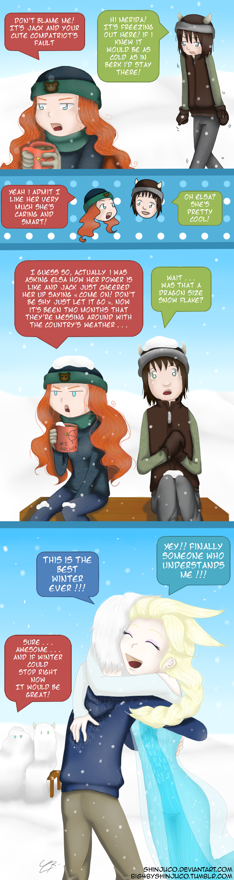 Best winter ever (1/3) by shinjuco
