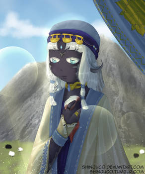 The widow of the Steppe