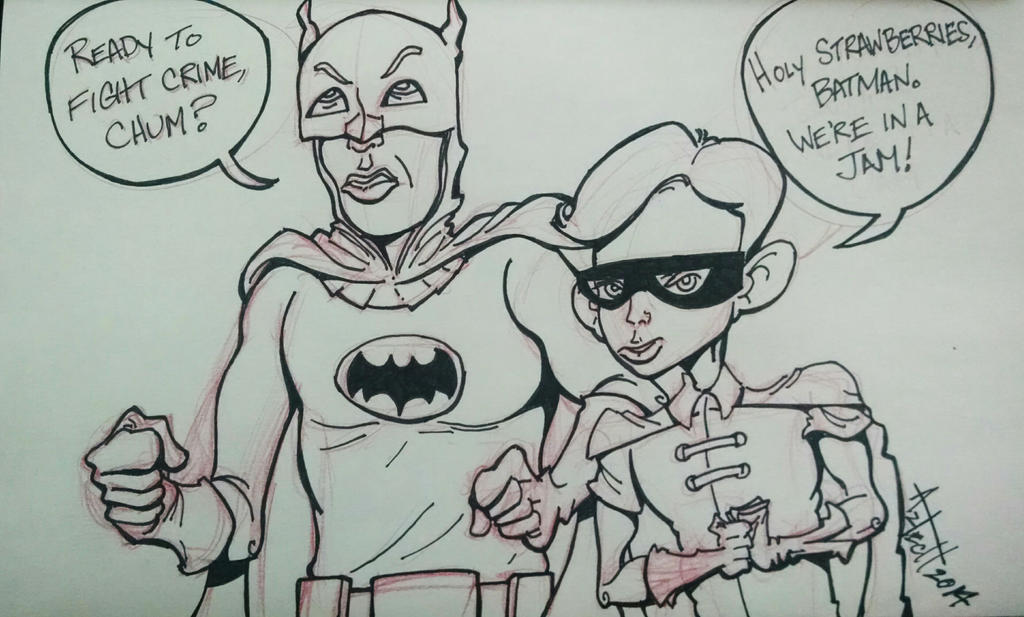 The Dynamic Duo by AZTECH2009
