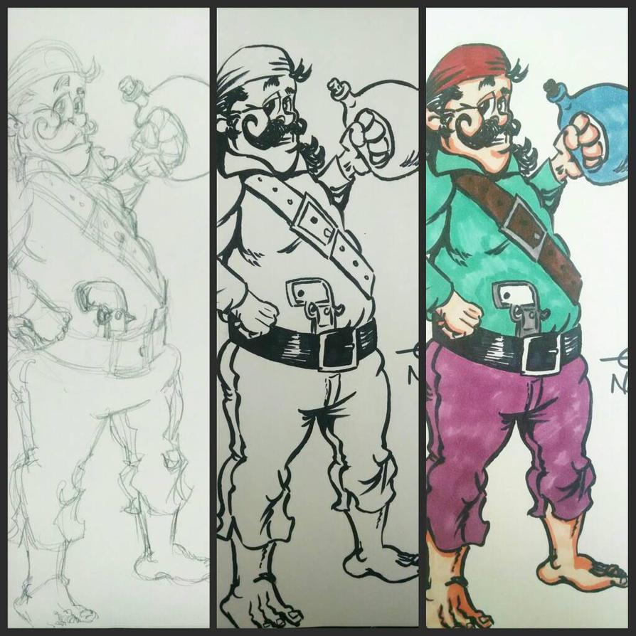 Pirate Process by AZTECH2009