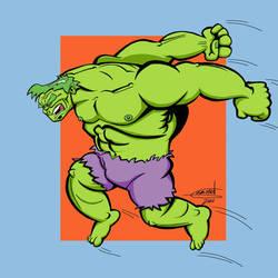 Jumping Hulk