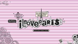 wallpaper love paris