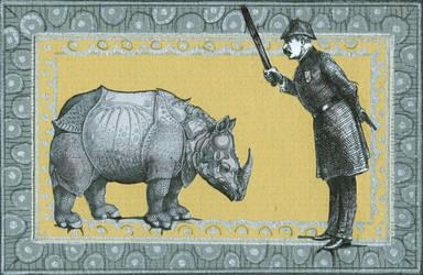 The Naughty Rhino by DivineIguana
