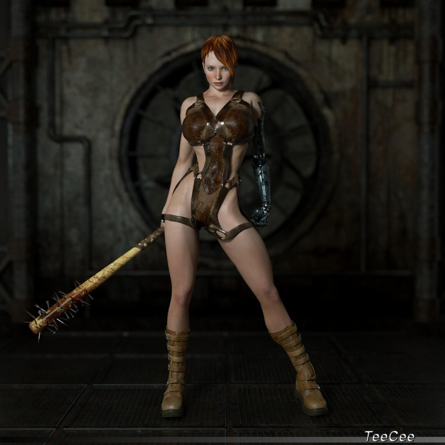 3d warrior chicks nude clips