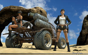 Desert outlaws by ThierryCravatte