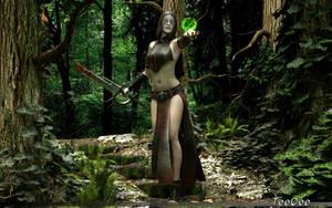 Forrest Witch by ThierryCravatte