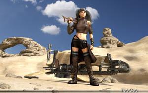 Desert Nomad by ThierryCravatte