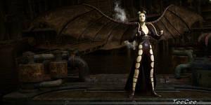 Steam Angel by ThierryCravatte