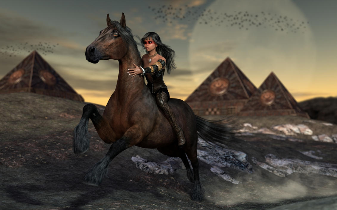 Black Amazon by ThierryCravatte
