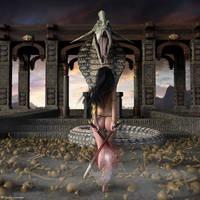 Dieu Serpent by ThierryCravatte