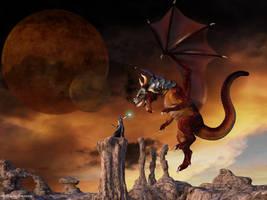 Dragon's Priestess by ThierryCravatte