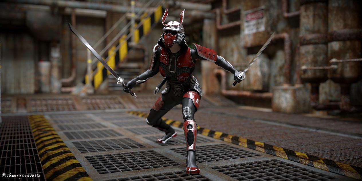 Sci-Fi Samurai by ThierryCravatte