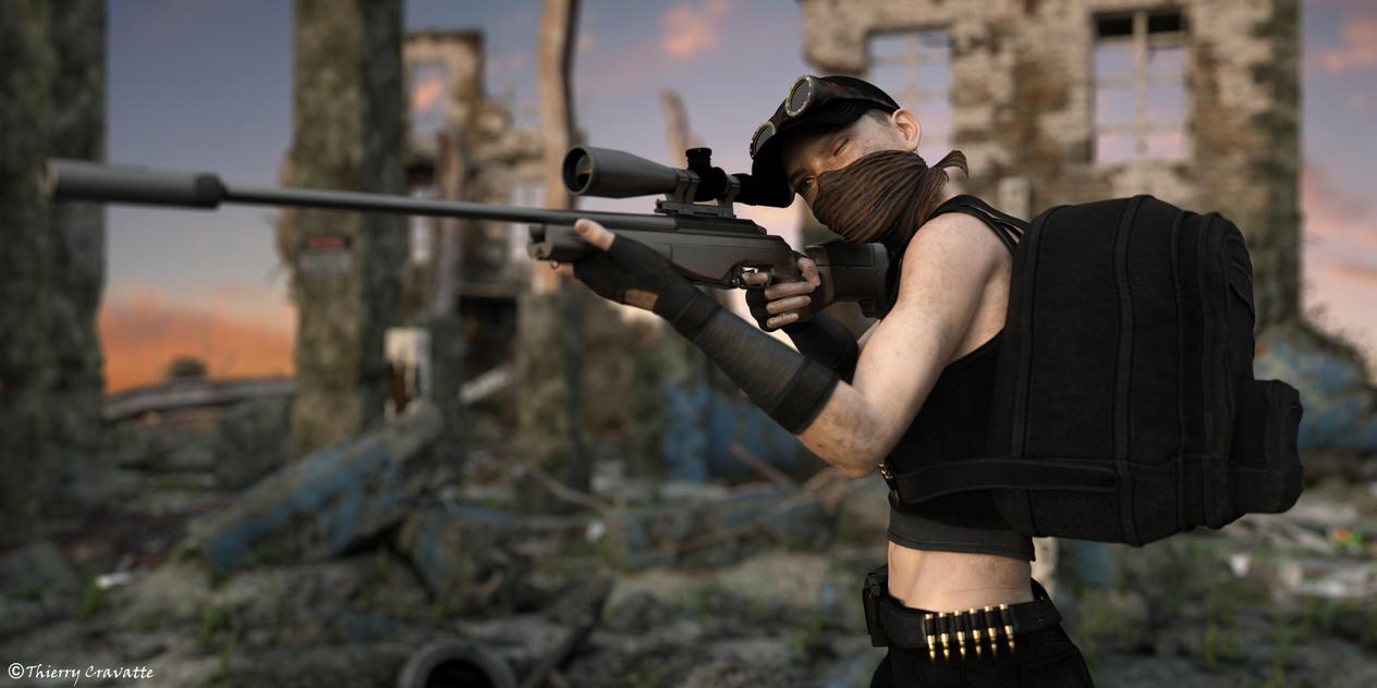 Sniper by ThierryCravatte