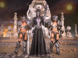 Lord Necromancer by ThierryCravatte
