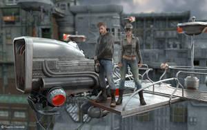 Suburban Racers by ThierryCravatte