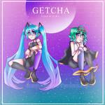 GETCHA!! Miku and Gumi (orig)